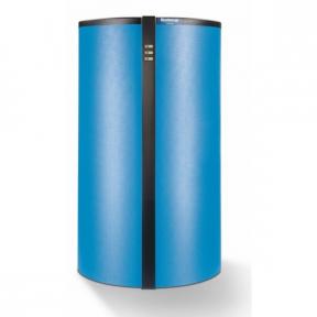 Вертикальный бак аккумулятор Buderus Logalux PR 5006E-B (изоляция: 60+40 мм, синий) 7735500908