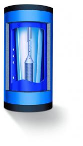Комбинированный бак-водонагреватель Buderus Logalux PL1000/2S 1000 л c термосифоном 5067310