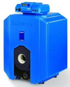 Напольный чугунный котёл на газе или дизельном топливе Buderus Logano G125WS 7747311210 -25 кВт без системы управления